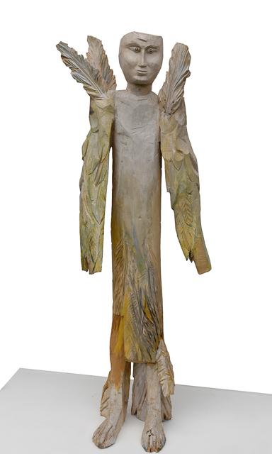 Engel, Holz, 150 x 50 cm